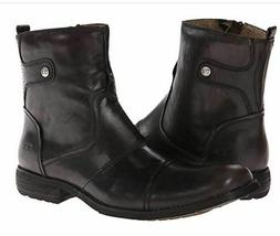 Bed Stu 11.5 Boots Mens Burst Motorcycle Boot Black Leather