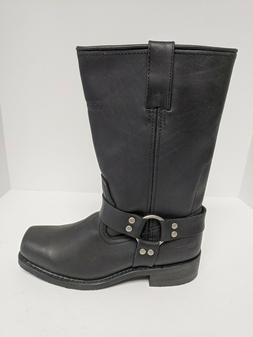 "AdTec 11"" Harness Motorcycle Boots, Black, Men's 9 M"