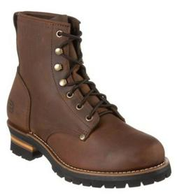 12 D men's SKECHERS CASCADE Logger work Motorcycle Boots - B