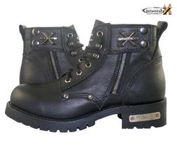 1505 mens black advanced lace up motorcycle