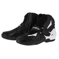Alpinestars SMX-1 R Vented Boots - 10.5 US / 45 Euro/Black/W