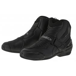 Alpinestars SMX-1R Men's Street Motorcycle Boots - Black / 4