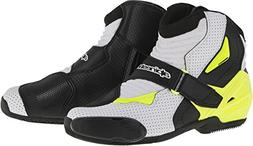 Alpinestars SMX-1R Vented Men's Street Motorcycle Boots - Bl