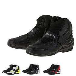 Alpinestars SMX-1R Vented Men's Street Motorcycle Shoes - Bl