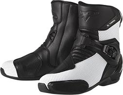Alpinestars SMX 3 SportBike Motorcycle Boots CE Certified Wh