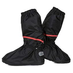 Anti Slip Waterproof Motorcycle Rain Boots Shoe Covers size