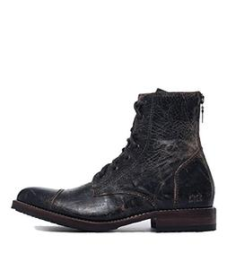 Bed|Stu Men's Protege Combat Boot  US, Black Lux)