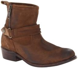 Bed|Stu Women's Double Boot,Camel,8 M US