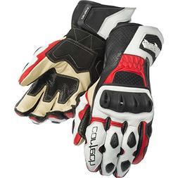 Cortech Latigo 2 RR Adult Street Bike Motorcycle Gloves - Wh