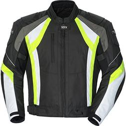 Cortech VRX Adult Textile Road Race Motorcycle Jacket - Blac