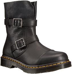 Dr. Martens Women's Kristy in Black Virginia Leather Boot, B