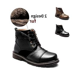 ENLEN&BENNA Men's Work Boots Fashion Casual Boot Motorcycl