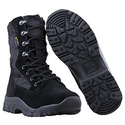 "FREE SOLDIER Men's Tactical Boots 8"" inch Lightweight Comb"