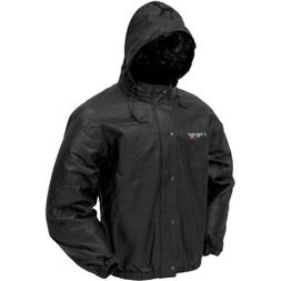 Frogg Toggs Classic Pro Action Jacket with Pockets, Black, S