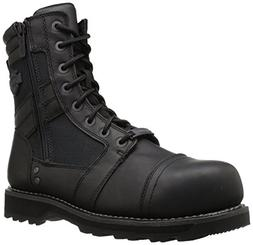 Harley-Davidson Men's Boxbury CT Industrial Boot, Black, 11