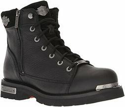 Harley-Davidson Men's Chipman Motorcycle Boot, Black, 11.5 M
