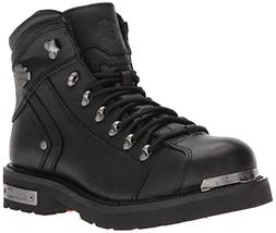 Harley-Davidson Men's Electron Motorcycle Boot, Black, 10 Me