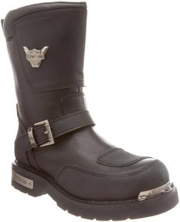 Harley-Davidson Men's Shift Motorcycle Boot,Black,10.5 M US