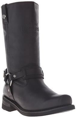Harley-Davidson Men's Westmore Motorcycle Harness Boot, Blac