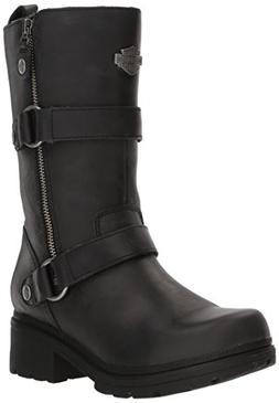 Harley-Davidson Women's Ardsley Motorcycle Boot, Black, 7 Me