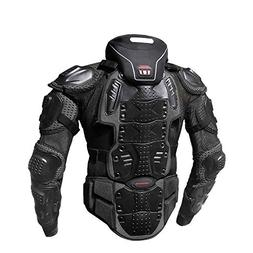 LIDAUTO Motorcycle Armor Jacket Motocross Gear Body Guards O