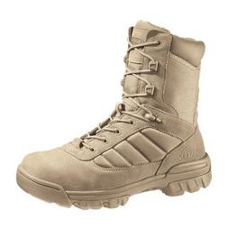 Military/Tactical Boots, Toe Type: Plain, Tan, Size: 8