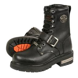 Milwaukee Leather Women's Classic Motorcycle Boots  1
