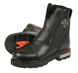 Milwaukee Leather Women's Classic Motorcycle Boots  2