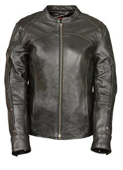 Milwaukee Leather Women's Triple Stitch Detailed Jacket