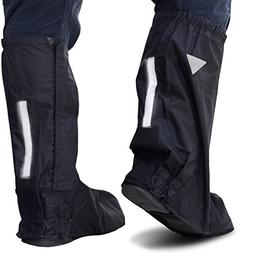OxGord Motorcycle and Powersport Rain Boot Covers Extra Larg