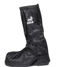 Protect the King Motorcycle Rain Boot Cover with Hard Sole