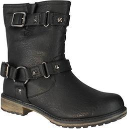 Skechers Women's Asap-Stud Boot,Black,7 M US