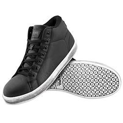 Speed and Strength Men's Soul Shaker Black Moto Shoes, 10