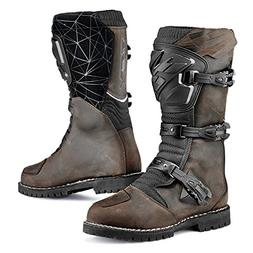 TCX 7160W Drifter Mens Street Motorcycle Boots - Vintage Bro