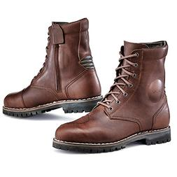 TCX 7295W Hero Mens Street Motorcycle Boots - Vintage Brown