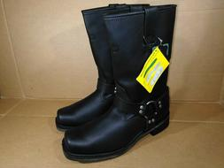 """Ad Tec Mens 11"""" Harness Motorcycle Boot Square Toe Size 11.5"""