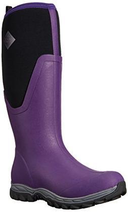 Muck Boot Women's Arctic Sport II Tall Snow, Acai Purple/Bla