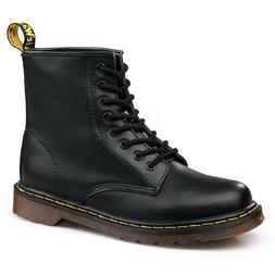 Autumn Classic Black PU Leather Women <font><b>Boots</b></fo