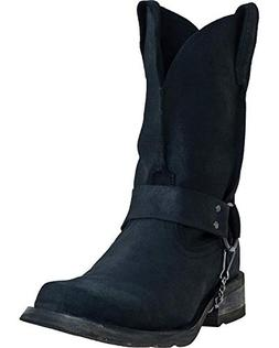 Dingo Men's Axyl Harness Boot Square Toe Black 13 EE US
