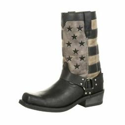 Durango Black Faded Flag Harness Boot