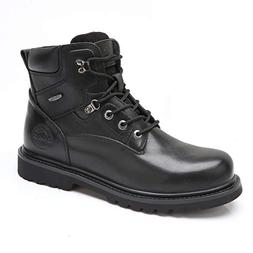 Camel Men's Black Work Boots Steel Composite Genuine Leather