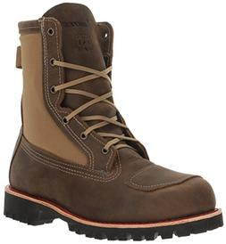 Bates Men's Bomber Work Boot, Brown, 10 M US