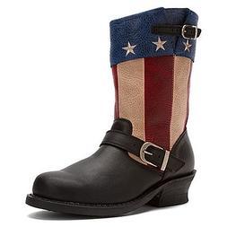 Durango Fashion Boots Womens 9 Soho Engineer Black DCRD158