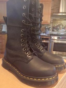 Brand new never worn doc martens smooth leather on bottom an