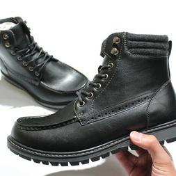 Bruno Marc Men Apache-01 Motorcycle Combat  Ankle Boots Size