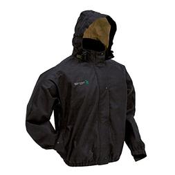 Frogg Toggs Bull Frogg Signature75 Rain Jacket, Black, Size