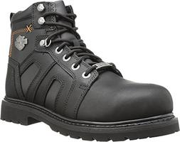Harley-Davidson Men's Chad ST Motorcycle Safety Boot, Black,