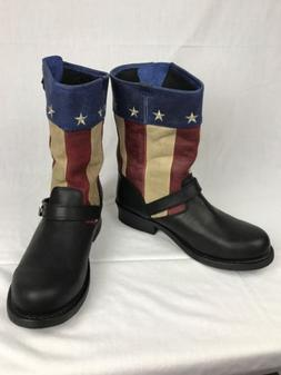 city mens dcdb025 patriotic flag leather soho