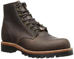 "Chippewa Men's 6"" Classic 25290 Lace Up Boot,Brown,9.5 EE US"