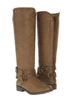 Madden Girl Corporel knee high boots tall motorcycle boots b